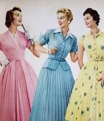 Resultado de imagen para fashion in the 1950s