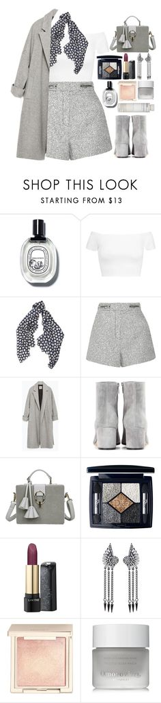 """""""🌪"""" by fashioneex ❤ liked on Polyvore featuring Alice + Olivia, Begg & Co, Proenza Schouler, Zara, Gianvito Rossi, Christian Dior, Lancôme, Jouer, Omorovicza and Korres"""