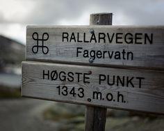 Rallarvegen Norway by Daniel Novello, via Flickr - 1373 m.o.h. ved Fagervatn - P_19.11.2012 Western Coast, My Land, Vacation Destinations, Norway, Outdoor Decor, Travel, Dots, Viajes, Destinations