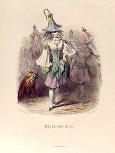 Belle-de-Nuit. [Marvel of Peru, Umbrellawort] One of over 800,000 free digital items from The New York Public Library.