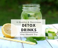 Detoxing with drinks is one of the simplest & most beneficial ways of cleansing the body. Detox drinks are simple to make at home, and the health benefits are quick and easy to notice.