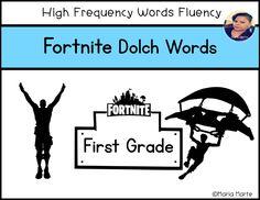 Fortnite Dolch Words First Grade Fluency, Dolch Words, First Grade Dolch Words, Rhyming Activities, Kindergarten Math Worksheets, Sight Word Activities, Sight Word Centers, Sight Word Practice, Learn To Spell, Learn To Read, Dolch Sight Words, Personal Development Books