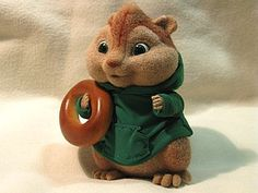 Russian tutorial for needlefelting a chipmunk