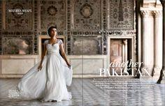 Meesha Shafi in Vogue