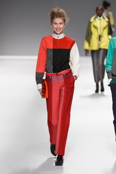 See all the looks from Issey Miyake's Fall 2013 show. #pfw