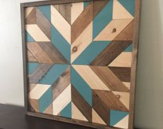Reclaimed wood wall art wood wall decor by NorthernOaksDecorCo