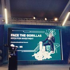 #TSA2015 #TransformAfrica15 Love the concept! #FaceTheGorillas  the Rwanda version lf #SharkTank is about to start! #Startup #Africa #StartupLions
