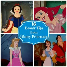 16 Beauty Tips from Disney Princesses - Babble
