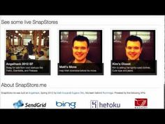 SnapStore.me - Free Craigslist Storefronts