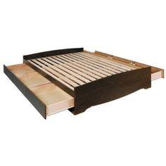 Bed Frame w/ Storage