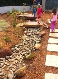 Natural Playground, Backyard Playground, Backyard For Kids, Playground Ideas, Outdoor Learning Spaces, Outdoor Play Areas, Natural Play Spaces, Preschool Garden, Outdoor Classroom