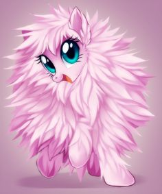 Fluffle Puff in definitly my favourite fanmade pony- pink fluffy unicorns dancing on rainbows Fluttershy, Rainbow Dash, Fluffy Puff, My Little Pony Collection, Vinyl Scratch, Mlp Fan Art, Fanart, Little Poney, My Little Pony Pictures