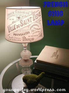 I've been extremely busy and life has felt a little chaotic. I have many projects and recipes that I want to get to, but I haven't been able to find the time. It seems every so often I need to remi...   Diy Lamp shade