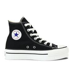 983973200cd Chuck Taylor All Star Hi Platform in black Platform Converse