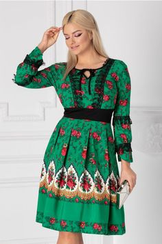 Rochii cu Imprimeuri Boem, Magenta, Fii, Cold Shoulder Dress, Dresses With Sleeves, Long Sleeve, Vintage, Floral, Fashion