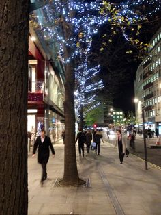 Cheapside, City of London, early December.