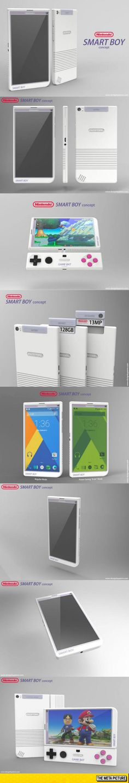 If Nintendo Made A Smartphone - - O.O I want this! To who do I give money!?