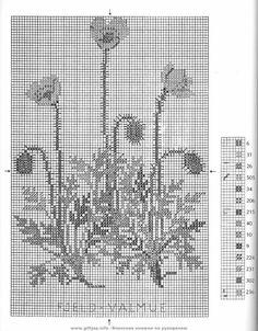 Gallery.ru / Фото #9 - Wild Flowers in Cross-Stitch - Mosca