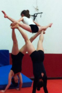 Andria Jodie and Aisling -2012- Acrobatic Gymnastics