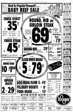 Vintage Kroger Ad, Vimco Macaroni, Plain Dealer, Cleveland, OH, November 19, 1964, pg 37