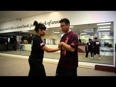Tai Chi Class Learning A Push Hands Technique - Las Vegas Kung Fu Academy - YouTube
