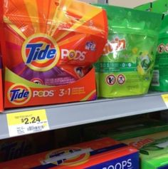 New Tide Coupon | Tide Pods just $0.24 Each at Walmart with New Coupon!