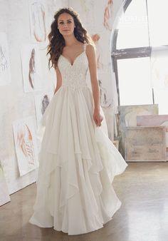 Wedding Dresses  :   Illustration   Description   Morilee by Madeline Gardner wedding dress 5512 | trib.al/FGVmU4t    - #Dress