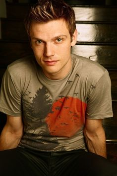 Nick Carter, My favorite Backstreet Boy and my first celebrity crush <3