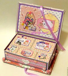 """Купить Мамины сокровища """"Сокровища Алисы"""" - розовый, розовый цвет, розочки, коробочка, мамины сокровища"""