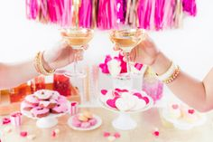 Galentine's Day Party Ideas | How To Host a Galentine's Day Party | Galentine's Day Entertaining Tips