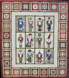 Nutcracker - free pattern    Block pattern 15 x 30 cm; viele  gratis patterns! Description from pinterest.com. I searched for this on bing.com/images