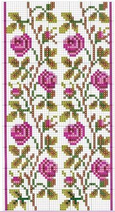 Tiny Cross Stitch, Cross Stitch Fruit, Cross Stitch Borders, Cross Stitch Flowers, Cross Stitch Designs, Cross Stitching, Cross Stitch Embroidery, Cross Stitch Patterns, Hand Embroidery Designs
