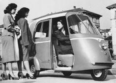 1952 Vespa Taxi #vespa