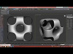 3d Tutorial | Ported Cube - YouTube