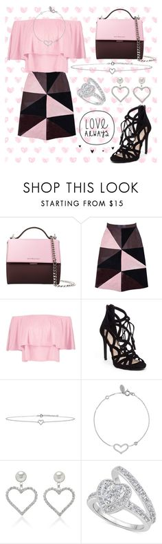 """Love♡"" by cecilvenekamp ❤ liked on Polyvore featuring Givenchy, Florence Bridge, Boohoo, Jessica Simpson, Lee Renee, Latelita and Alessandra Rich"