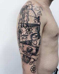 Tattoo done by Bernardo Lacerda ##Tattoos - psyk02mikmak07 - Google+