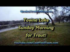 Towne Lake Sunday Morning for Trout! #flyfishing #switchrod - Stocker Trout Fishing