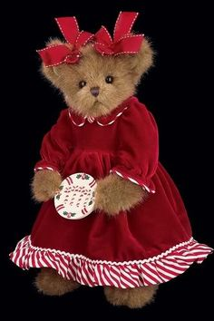 Bearington Bears Doll Christmas MANDY CANDYMAKER