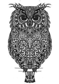 owl | Explore Hayley Sue Illustration's photos on Flickr. Ha… | Flickr - Photo Sharing!