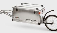 Fahrrad - Zubehör - Anhänger/Trollis Followme Der neue Box-Liner aus dem Hause FollowM