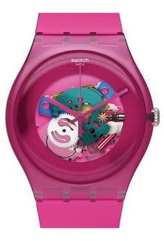 Montre Swatch Pink Lacquered