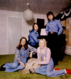 The Vallentuna photo sessions. Several photo sessions were taken during different periods in 1972-1973 in Vallentuna outside Stockholm where the ABBA members lived by that time.