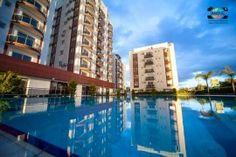 Lägenhet i Iskele, North Cyprus North Cyprus, Marina Bay Sands, Multi Story Building, Travel, Viajes, Trips, Tourism, Traveling