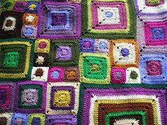 crochet babette blanket by Ruthiejoy, via Flickr