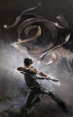 New City of Lost Souls cover art: Alec with Courage in Combat rune