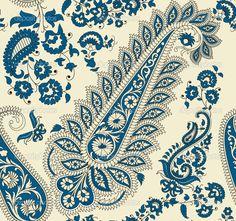 paisley pattern   Seamless paisley pattern   Stock Vector © Елена ...