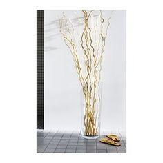 IKEA - BLADET, Vase, 65 cm, , Mundgeblasen; jedes Exemplar wurde von einem talentierten Kunsthandwerker gefertigt.