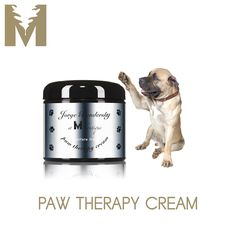 "PAW THERAPY $24 Spa treatment, the power of touch and its healing properties are no longer for humans alone.  Our fur friends and their precious paws deserve perfect pampering as well with Jorge at M Boutique Paw Therapy Cream.  Gently massaging your dog's paws with this luxurious neroli and wild mint fusion is like ""holding hands"" with your dog, expressing an even deeper level of inward love and adoration.  Beautiful aromatherapeutic essential oils work to calm as soothing all natural ing"