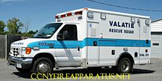 Valatie Rescue Squad 805, Village of Valatie, Town of Kinderhook, NY (Columbia County)