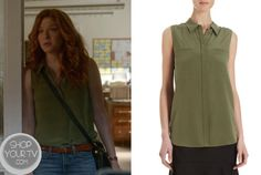 Shop Your Tv: Under the Dome: Season 1 Episode 10 Julia's Green Blouse